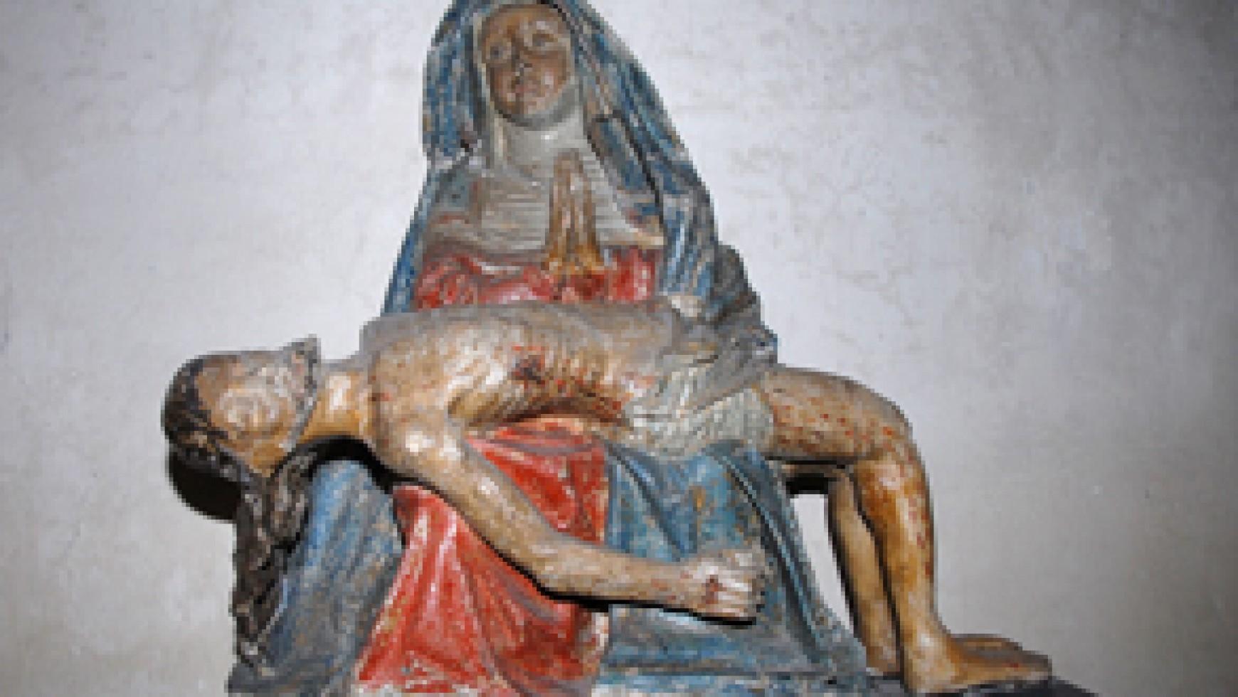 Images de la Vierge dans le pays d'Allanche