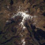 Clichés du massif du Cantal – Thomas Pesquet, Astronaute