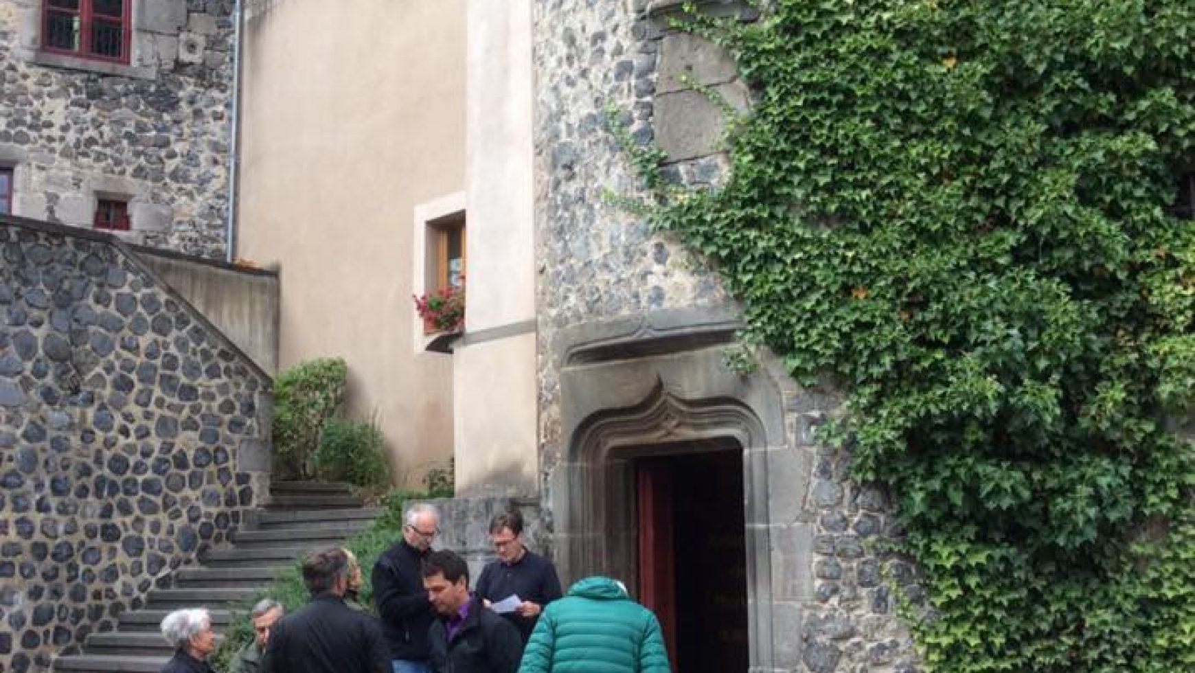 Conférence sur les Hospitaliers de Saint-Antoine donnée par Bernard Vinatier à la maison du Médecin du Roy à Murat