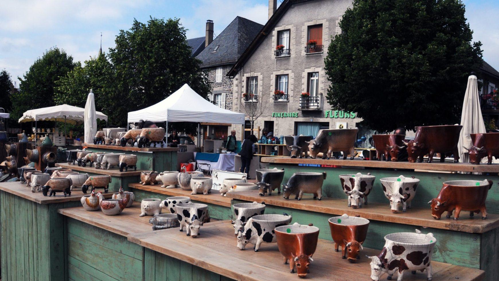 L'album du Marché des Potiers 2018 de nos Amis du Vieil Allanche