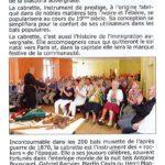 Conférence de André Ricros – La Voix de St Jean Baptiste – Sept. / Oct. 2018