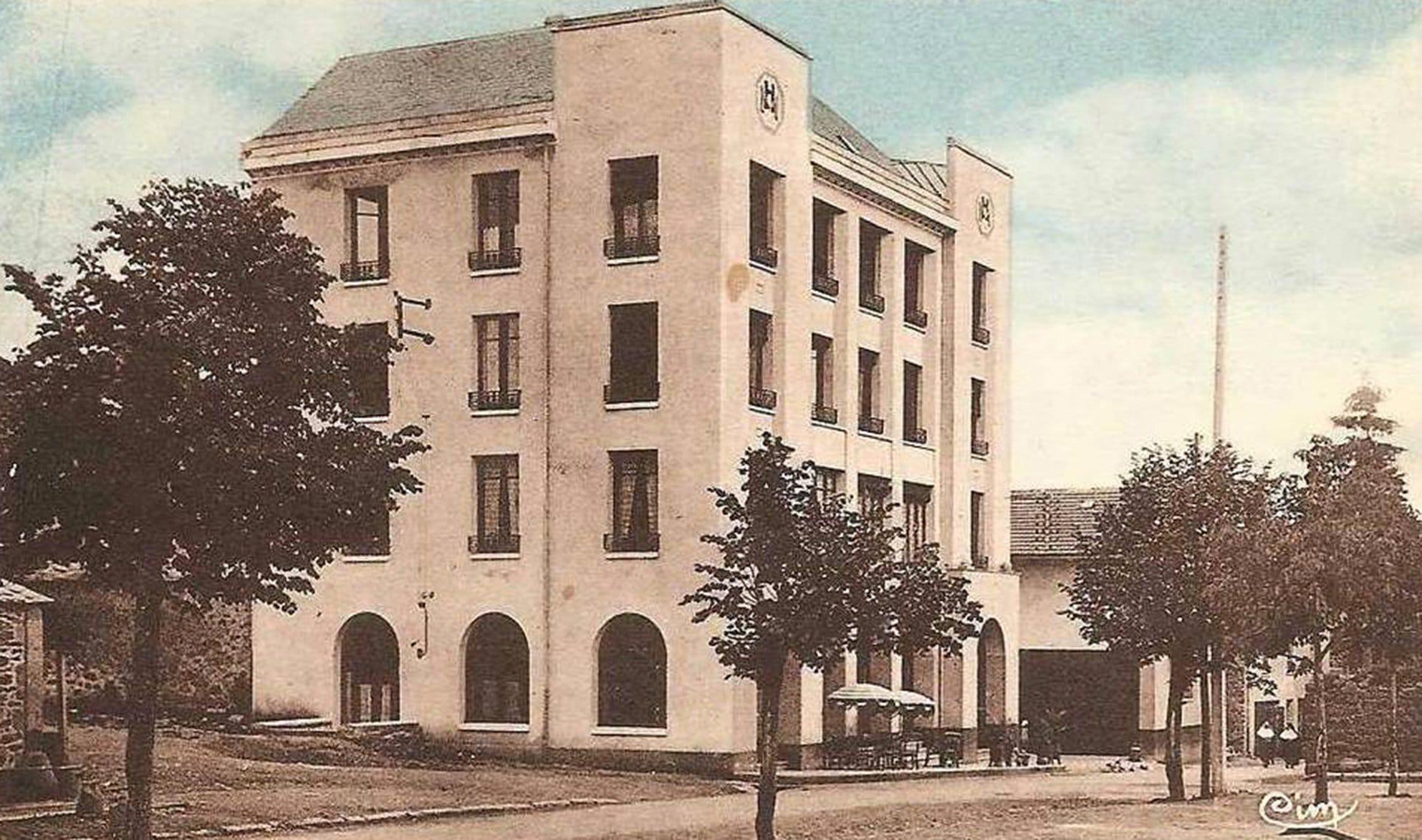 modern hotel allanche