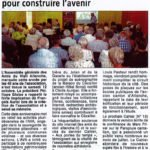 40 ans de sauvegarde du patrimoine pour construire l'avenir – La Dépêche d'Auvergne – 2 novembre 2019