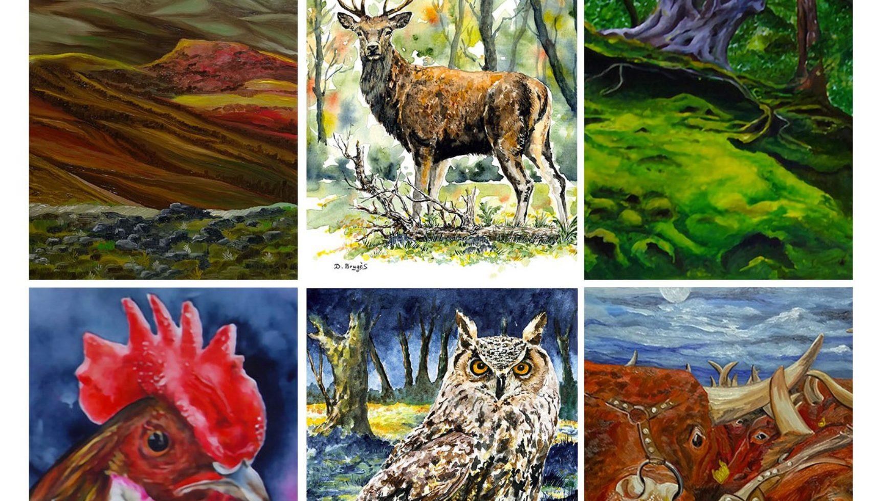 Expo Peintures à Vèze – 10 juillet au 16 août 2020