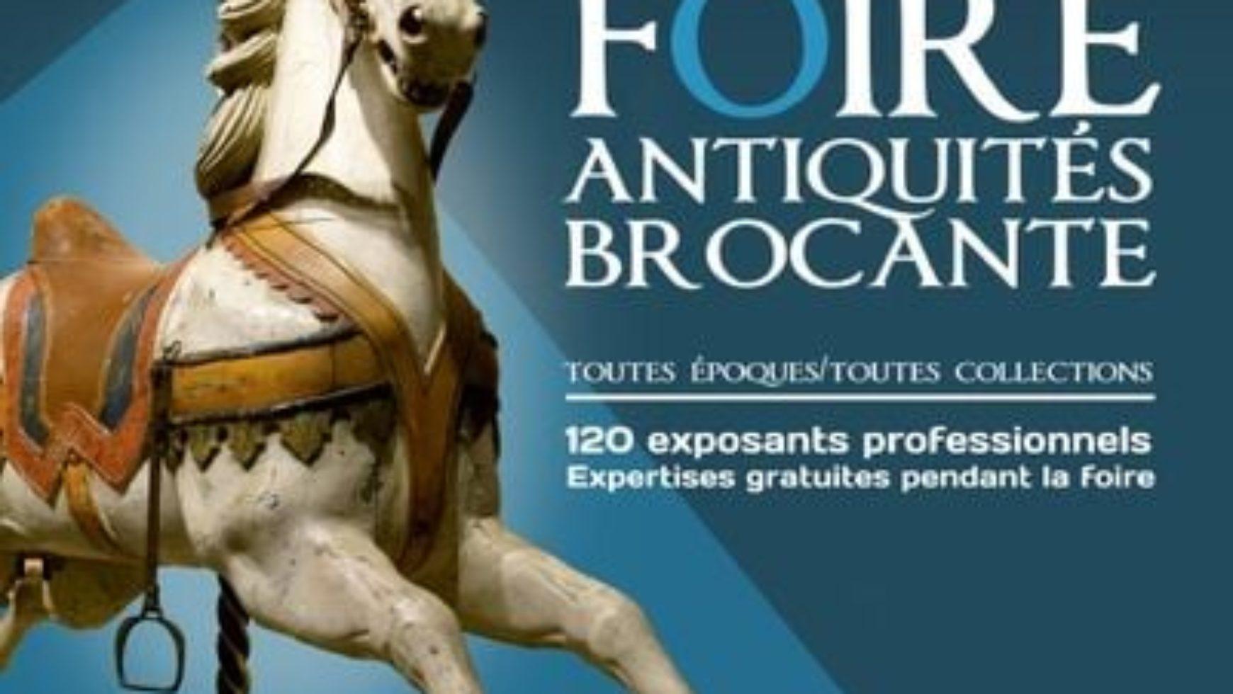 Foire à la brocante et aux antiquités – Allanche – 2021 – 45è édition