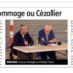 «Un bel hommage au Cézallier»- La Montagne – 24 aout 2021 / Allanche